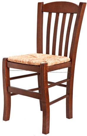 Ξύλινη παραδοσιακή καρέκλα καφενείου, ταβέρνας ή εστιατορίου Casa
