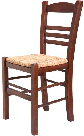 Ξύλινη παραδοσιακή καρέκλα καφενείου, ταβέρνας ή εστιατορίου Επιλοχία