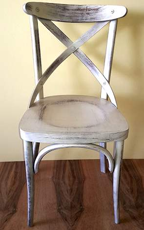 Ξύλινη παραδοσιακή καρέκλα καφενείου, ταβέρνας ή εστιατορίου Ρετρό