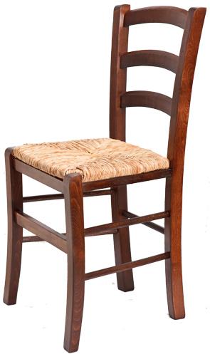 Ξύλινη παραδοσιακή καρέκλα καφενείου, ταβέρνας ή εστιατορίου παρος