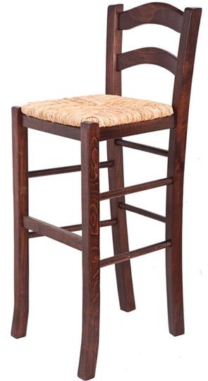 Παραδοσιακό ξύλινο σκαμπώ Σ8