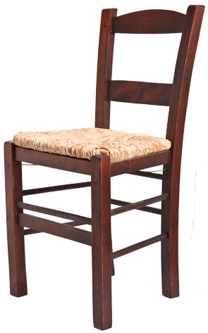 Ξύλινη παραδοσιακή καρέκλα καφενείου, ταβέρνας ή εστιατορίου Συρος