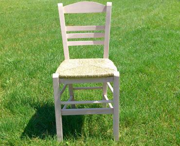 Παραδοσιακή Ξύλινη Καρέκλα Επιλοχία