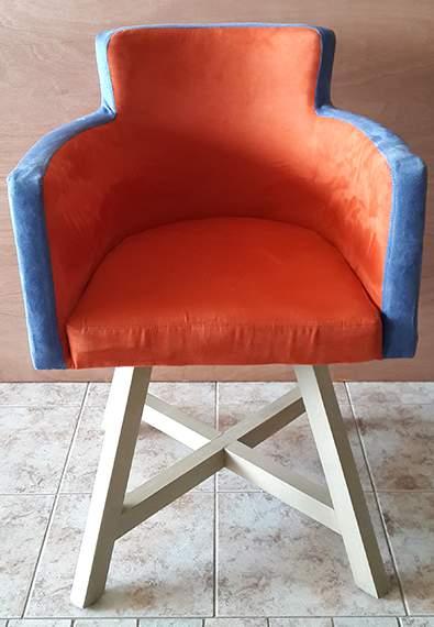 Ξύλινη Πολυθρόνα Έρις Karekles.net