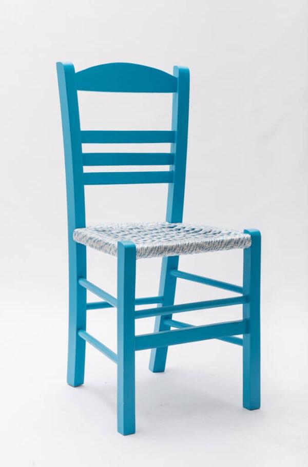 Παραδοσιακή Ξύλινη καρέκλα καφενείου Επιλοχία