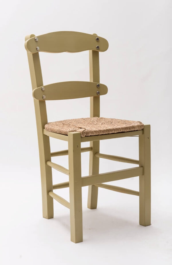 """Ξύλινη καρέκλα ταβέρνας """"Καρφωτή Χοντρή"""""""
